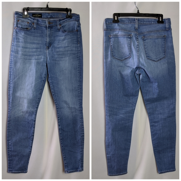 J. Crew Denim - J. Crew High Rise Skinny Jeans Light Wash Sz 31